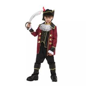 Fantasia Capitão Jack Sparrow Halloween Carnaval Criança