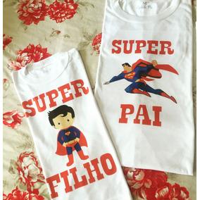 02 Camisetas Tal Pai Tal Filho - Dia Dos Pais - Frete Grátis