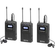 Microfono Inalambrico Boya-wm8 Pro K2 2 Emisores 1 Receptor