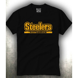 Playera Steelers Pittsburgh Hombre Rott Wear Envio Gratis