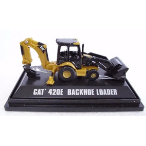 Miniatura Retroescavadeira Caterpillar 420e - Escala: Mini