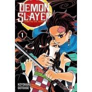 Manga - Demon Slayer - Kimetsu No Yaiba 01 - 6 Cuotas