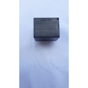 Rele 3v 12 Amper 125vca 5 Pinos 1 Reversor Kit Com 100 Pçs