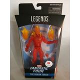 Human Torch 4 Fantasticos Marvel Legends Walgreens Antorcha
