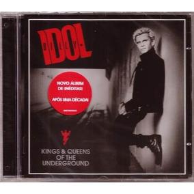 Billy Idol Kings & Queens Of The Underground [cd Novo De Fa]