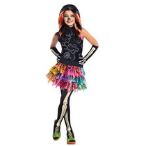 Disfraz Niño Monster High Skelita Calaveras De Vestuario, M