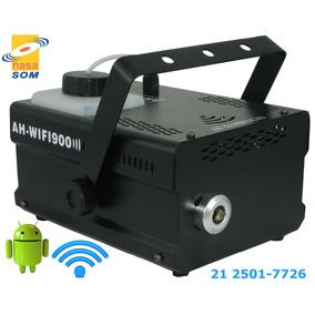 Máquina De Fumaça 900w Android Wifi Ah Lights