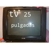 Televisor Phillips 25 Pulgadas Stereo Trinorma Impecable