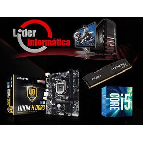 Kit Placa Mãe + Processador I5 6400+ Memoria 8gb + Hd 1tb*