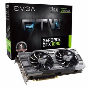 Placa De Vídeo Evga Geforce Gtx 1080 8gb Ftw Gaming Acx 3.0