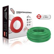 Caja 100 Mts Cable Iusa Negro Thw Cal 12 Awg 100%cobre