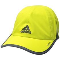 Adidas Gorra Adizero Ii Para Hombre, Shock Slime / Deepest S