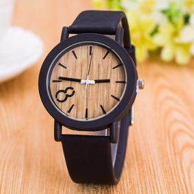 Nuevo! Reloj Madera Para Caballero Formal Vintage - Freya