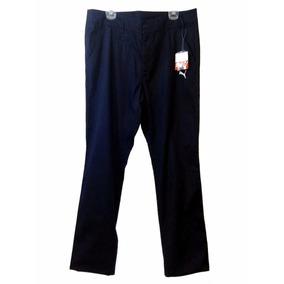 Pantalón Para Hombre Marca Puma Talla 38 Color Azul Marino