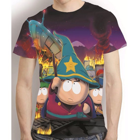 Camisa South Park Eric Cartman Camiseta Estampa Total