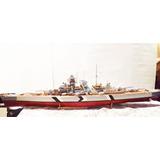 Acorazado / Barco Bismarck De Salvat Escala 1/200 Sólo Cdmx