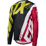 Jersey Fox Racing Demo Ls Amarillo/negro Varias Tallas