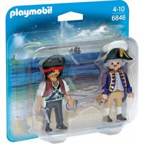 Educando Playmobil Linea Duo Pack Pirata Y Soldado Fig 6846