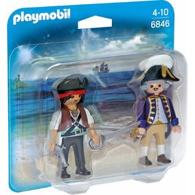 Playmobil Duo Pack Pirata Y Soldado Fig 6846 Educando