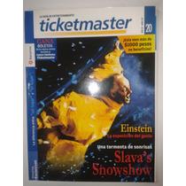 Revista Ticket Master #20 Coachella Vincent Gallo Fn4