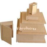 Caja Libro En Fibrofacil N°3 - 21x25 Cm