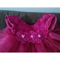 Vestido Rosa Para Niña De 1.5 A 2.5 Años