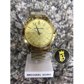 Relógio Michael Kors Mk3335 Slim Dourado Marca D