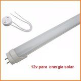 Lâmpada Led 12v 60cm 10w Tubular Para Energia Solar 12 Volts