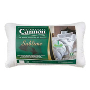Almohada Cannon Sublime Fibra Siliconada 70x40 Gtía 5 Años