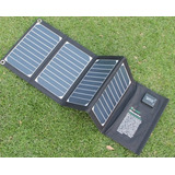 Cargador Solar Plegable Lap Top Notebook Telefonos Tablet