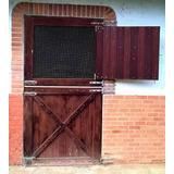 Puertas Porteras Para Caballeriza