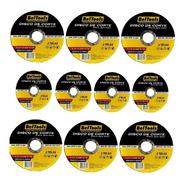 Kit 10 Disco De Corte Inox 4.1/2x3/64x7/8  Beltools