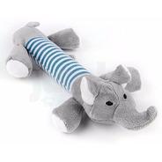 Elefante Juguete Con Chifle De 27cm Para Perros Mascotas
