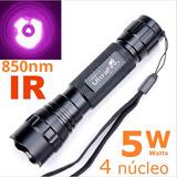 Lanterna Infravermelha 850nm Ir C/ Bateria E Carregador