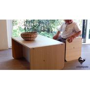 Set 2 Muebles Montessori (silla Y Banca-escritorio)