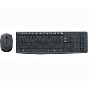 Kit Teclado Mouse Logitech Mk235 Inalambrico Wireless
