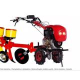 Plantadeira E Adubadeira Para Motocultivador E Micro Trator