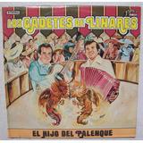 Los Cadetes De Linares. El Hijo Del Palenque. Disco Lp Nuevo
