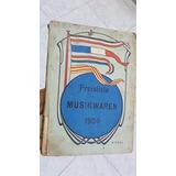 Antiguo Catalogo De Phonografos Y Cajas Musicales 1901