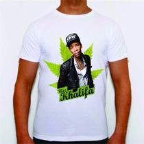 Camiseta De Hip Hop Rap Varios Artistas Wiz Khalifa 2pac Plt