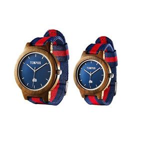 Tempus - Willoughby - Su Y Hers Relojes Pareja Reloj De Made