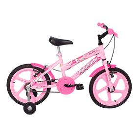Bicicleta Mormaii Aro 16 Kiss - Rosa (frete Grátis*)