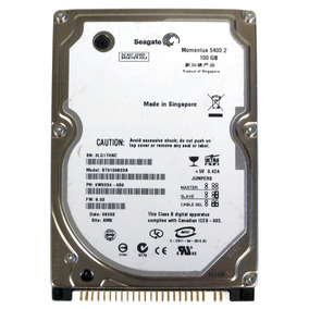 Hd Ide 100 Gb Seagate Para Notebook 2,5 - Novo !!!