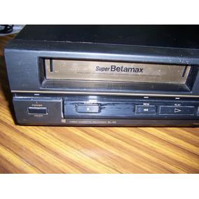 Videocasetera Sony Super Betamax Funcionando Sl55