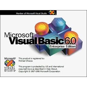 Visual Basic 6.0 Full + Libro Digital Para Aprender