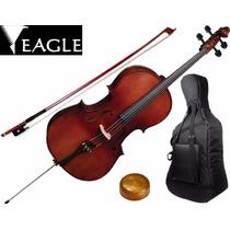 Violoncelo Eagle Cello Ce300 4/4 Profissional Musical Store