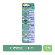 5 Pilas Cr1220 Litio 3v. Larga Duracion Alarma Reloj Balanza
