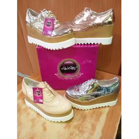 Zapatos De Damas Plataformas Pavitas Originales
