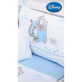 Kit Berço Disney Tigger - 100% Algodão - 9 Peças