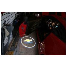 Luz Logo De Cortesia Puerta Para Piso, Led, Chevrolet - Alfa